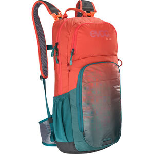 EVOC CC Lite Performance Backpack 16L chili red/petrol chili red/petrol