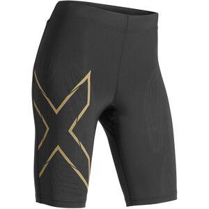 2XU MCS Run Shorts Damen black/gold reflective black/gold reflective