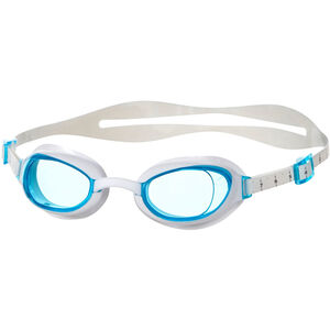 speedo Aquapure Goggles Damen white/blue white/blue