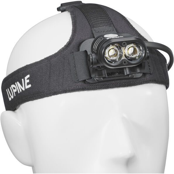 Lupine Piko/Blika FrontClick Stirnband HeavyDuty schwarz