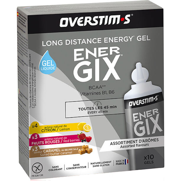 OVERSTIM.s Energix Liquid Gel Box 10x30g Mixed Flavors