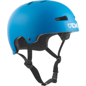 TSG Evolution Solid Color Helmet Kinder satin-darkcyan satin-darkcyan