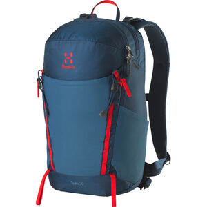 Haglöfs Spira 20 Daypack blue ink/pop red blue ink/pop red