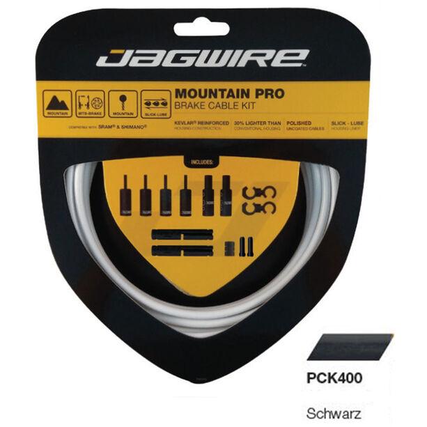 Jagwire Mountain Pro Bremszugset schwarz