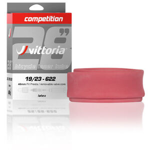 """Vittoria Competition Schlauch 28"""" 19/23-622 Latex red red"""