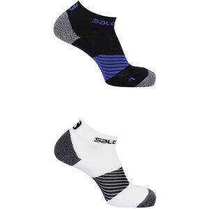 Salomon Speed Socks 2 Pack Night Sky/White