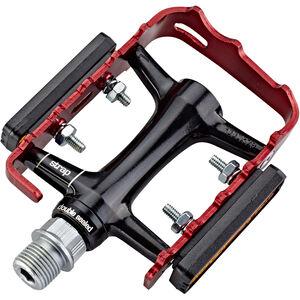 NC-17 Trekking Pro Pedals Alu schwarz/rot schwarz/rot