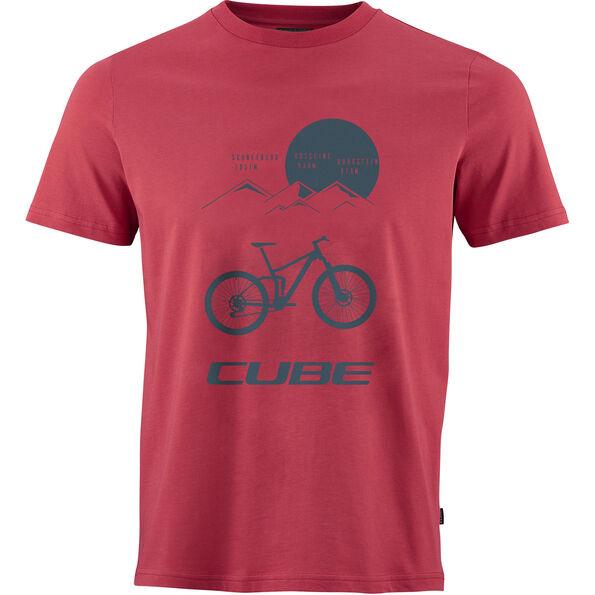 Cube Heritage T-Shirt Herren red