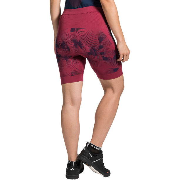 VAUDE SQlab LesSeam Shorts Damen crimson red