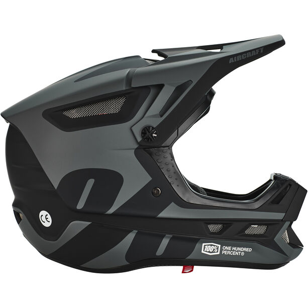 100% Aircraft DH Composite Helmet black