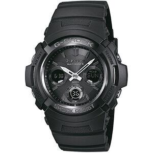 CASIO G-SHOCK AWG-M100B-1AER Uhr Herren black black