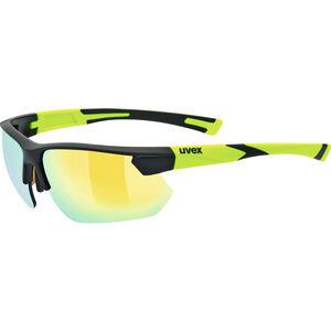 UVEX Sportstyle 221 Sportglasses black mat yellow/yellow black mat yellow/yellow