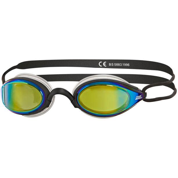 Zoggs Podium Titanium Goggles black/black/mirror