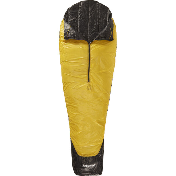 Nordisk Oscar +10° Sleeping Bag XL mustard yellow/black