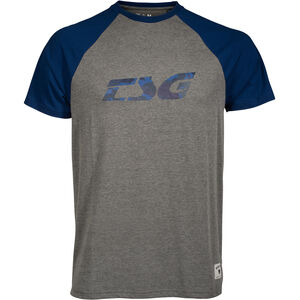 TSG Trap Raglan T-Shirt Men heather grey/blue bei fahrrad.de Online