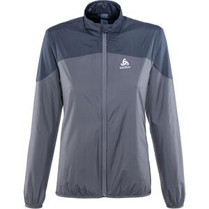 Odlo Core Light Jacket Damen odyssey gray-diving navy odyssey gray-diving navy