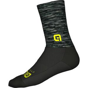 Alé Cycling Merino Logo Socks grey-black grey-black