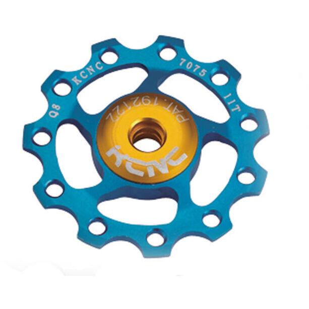 KCNC Jockey Wheel 11T Ceramic Bearing blau