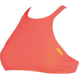 arena Think Crop Top Damen shiny pink-yellow star shiny pink-yellow star