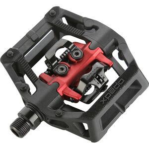 Xpedo GFX Neo Klickpedal schwarz/rot schwarz/rot