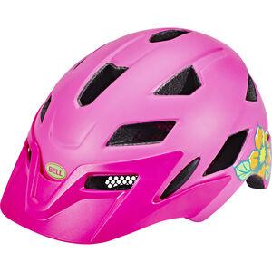 Bell Sidetrack Helmet Kinder matte pink/lime matte pink/lime