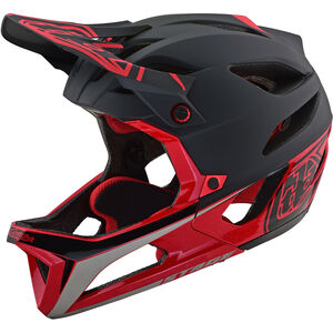 Troy Lee Designs Stage Race MIPS Helmet black/red black/red