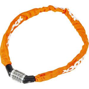 Trelock BC 115 Code Kettenschloss 60 cm orange bei fahrrad.de Online
