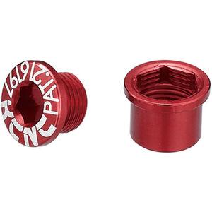 KCNC Road SPB003 Kettenblattschraubenset Shimano M8 kurz red red