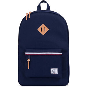 Herschel Heritage Backpack Peacoat/Windsor Wine/White bei fahrrad.de Online