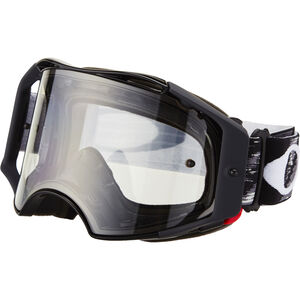 Oakley Airbrake MX Brille jet black speed/clear jet black speed/clear