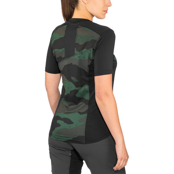 Troy Lee Designs Skyline SS Jersey Damen camo/stealth/black camo/stealth/black