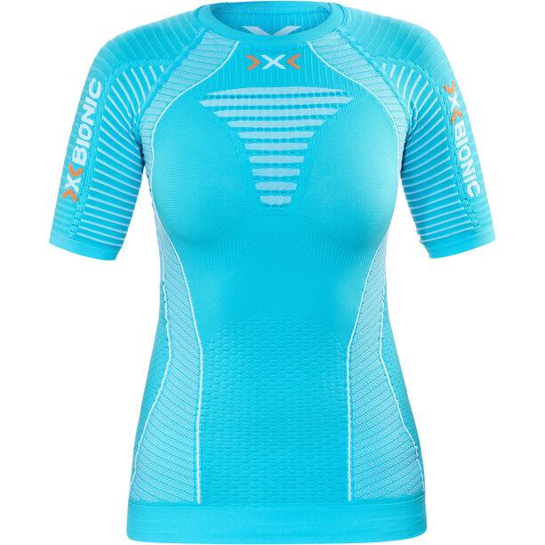 X-Bionic Effektor Running Power Shirt SS Damen turquoise/white