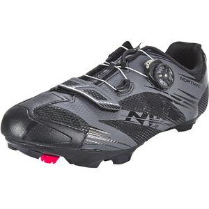 Northwave Scorpius 2 Plus Shoes Herren black/anthra black/anthra