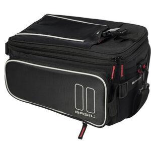 Basil Sport Design Gepäckträgertasche 7-12l schwarz schwarz