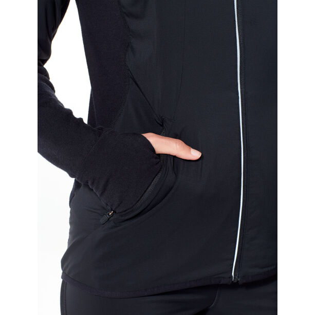 Icebreaker Tech Trainer Hybrid Jacke Damen black