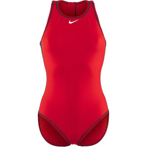 Nike Swim Water Polo Solids High Neck Tank Damen university red university red