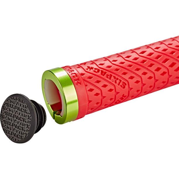 Sixpack K-Trix Grips Ø 31mm red/electric-green