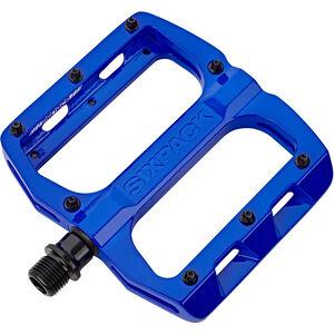 Sixpack Menace Pedals blue blue