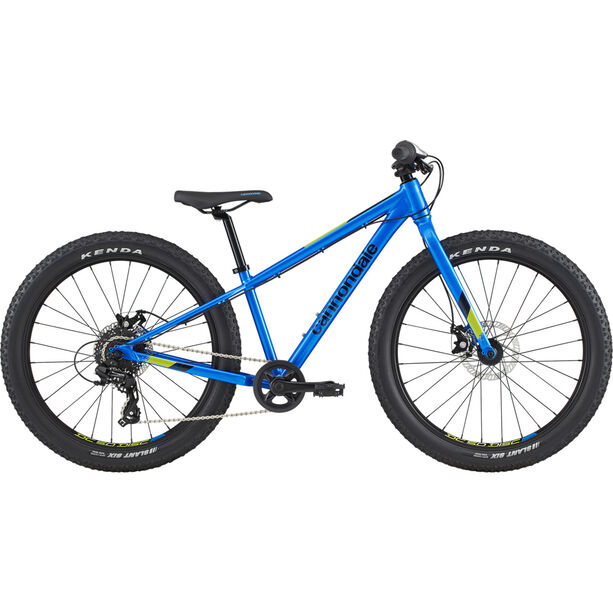 Cannondale Cujo 24+ Kinder electric blue