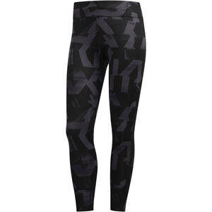 adidas Own The Run Tights Damen gresix/black gresix/black