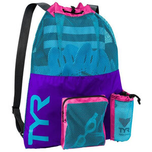TYR Big Mesh Mummy Backpack purple/blue purple/blue