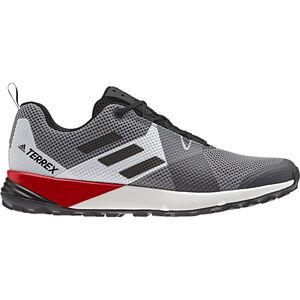 adidas TERREX Two Shoes Men grey three/core black/active red
