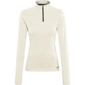 adidas TERREX Trace Rocker 1/2 Zip LS Shirt Damen raw white raw white