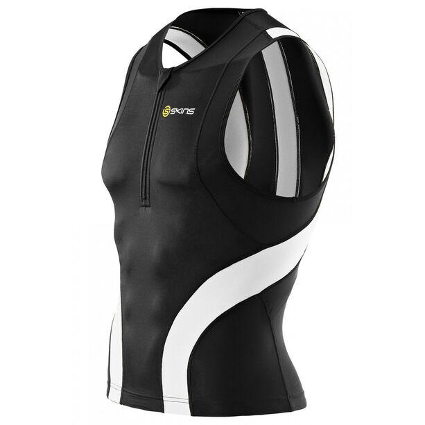 Skins TRI400 Sleeveless Tri Top Front Zip Herren