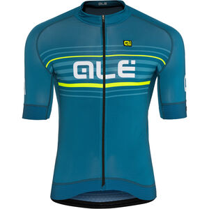 Alé Cycling Graphics PRR Salita Shortsleeve Jersey Herren lagoon-flou yellow lagoon-flou yellow