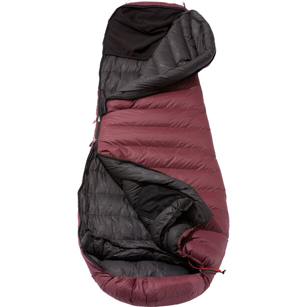 Yeti Sunrizer 600 Schlafsack S grey/red
