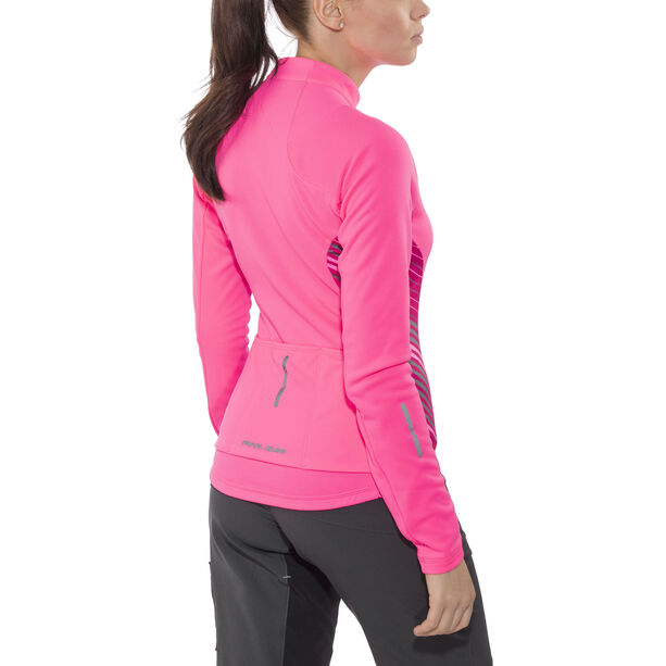 PEARL iZUMi Select Pursuit Thermal Jersey Damen screaming pink whirl