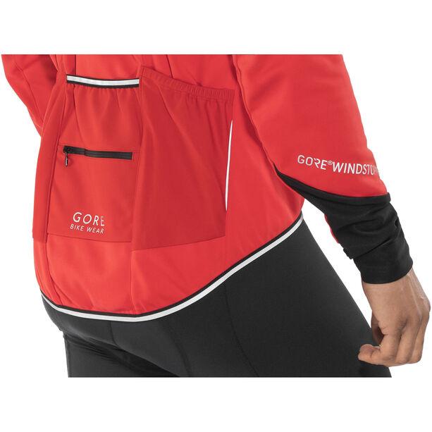 GORE BIKE WEAR Power 2.0 WS SO Jacket Herren red/black