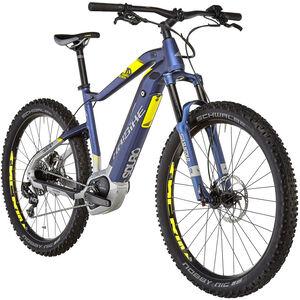HAIBIKE SDURO HardSeven 7.0 Blau/Citron/Silber matt bei fahrrad.de Online