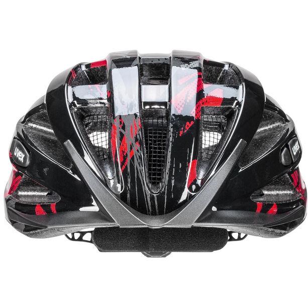 UVEX Air Wing Helmet Kinder black red